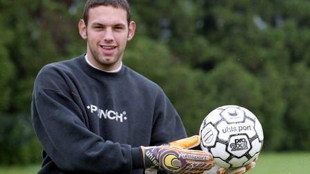 Richard Wright would be Terry's sub keeper