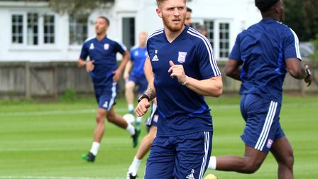 Teddy Bishop and his fellow Town players can't return to training until at least May 16 - and even t