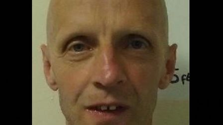 Scott Chandler, who went missing from Hollesley Bay prison in Suffolk Picture: SUFFOLK CONSTABULARY