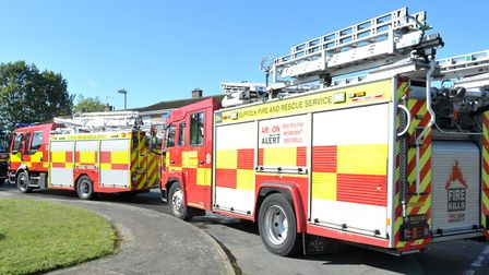 Fire crews were called to the scene in Sible Hedingham, Essex, on Saturday morning (stock image) Pic