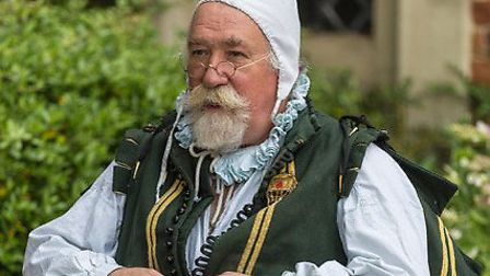 Fred Rapsey was a re-enactor at Kentwell Hall in Long Melford for 42 years. Picture: PATRICK PHILLIP