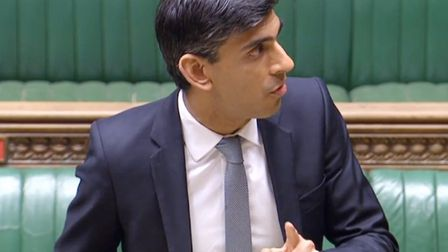 Chancellor Rishi Sunak made the announcement about furlough being extended to the House of Commons: