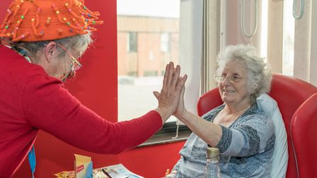 A study by Suffolk Artlink has found the effects of positive engagement with people living with deme