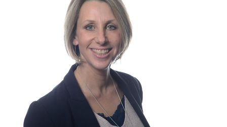 Catherine Morgan, chief nurse for the East of England. Picture: NHS EAST OF ENGLAND