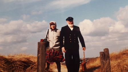 Margaret and her late husband Geert Tielman Picture: SUBMITTED BY FAMILY