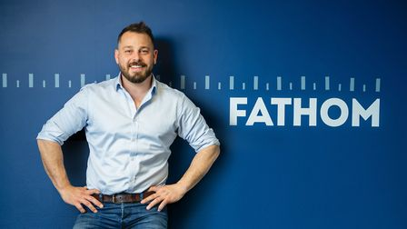Matt Cater, director and owner of display and workspace furniture manufacturers Fathom Picture: SIM