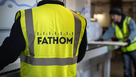 A Fathom worker on the shop floor Picture: SIMON BUCK