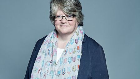 Suffolk Coastal MP, Dr Therese Coffey, is work and pensions secretary. She recently said her departm