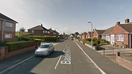 The crash happened in Baden Powell Drive in Colchester Picture: GOOGLE MAPS