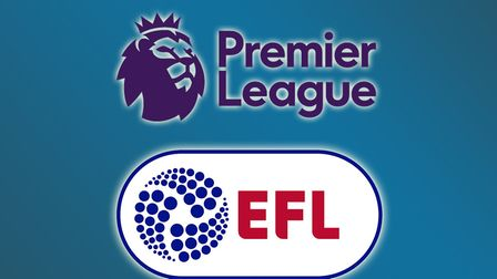 The Premier League and the EFL are working to restart football in England