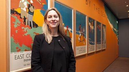 Ghislaine Wood, curator of Art Deco by the Sea, a new exhibition at the Sainsbury Centre which can b