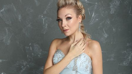 Suffolk-based, international opera singer Christina Johnston who is streaming a series of weekly con