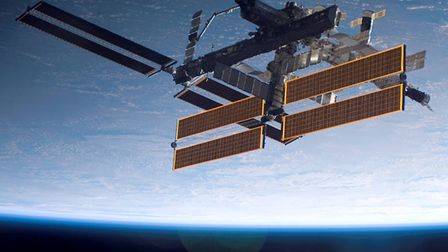 You may be able to see the International Space Station above Suffolk over the coming nights. Picture