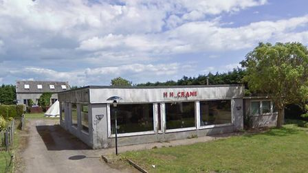 A new planning application has been entered for the former Crane garage site. Picture: GOOGLE MAPS
