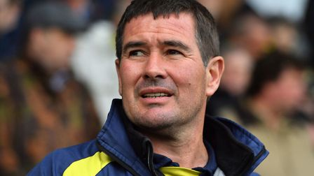 Burton Albion have agreed to part company with boss Nigel Clough. Picture: PA