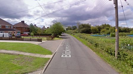 The homes are set to be built on land off Bickers Hill Road, Laxfield Picture: GOOGLE MAPS