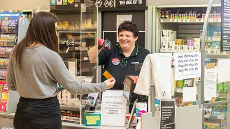 Central England Co-op has rising numbers of staff targeted by customers spitting and coughing at the