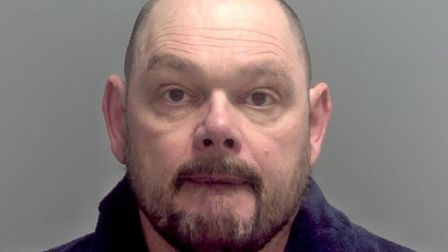 Shaun Davey was jailed for two years at Ipswich Crown Court Picture: SUFFOLK CONSTABULARY
