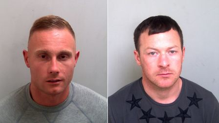 L-R Karl Lawrence and Thomas Knight Picture: ESSEX POLICE