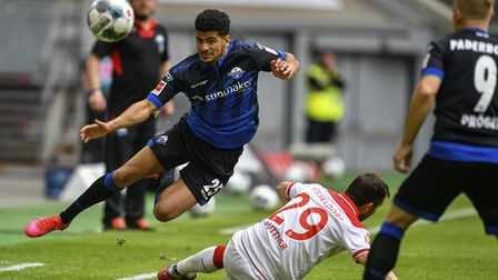 Fortuna and Paderborn drew 0-0. Tackles were still allowed! Picture: AP