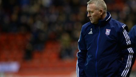 Paul Lambert's Ipswich Town were 10th in League One at the time of football's suspension. Picture Pa