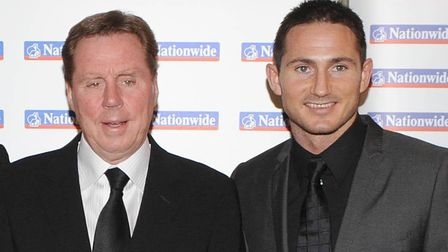 Harry Redknapp, pictured with nephew Frank Lampard. Picture: PA