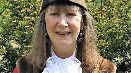 Sue Bale is the new mayor of Woodbridge Picture: JEREMY BALE