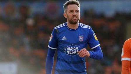 Cole Skuse at Blackpool. Picture Pagepix Ltd
