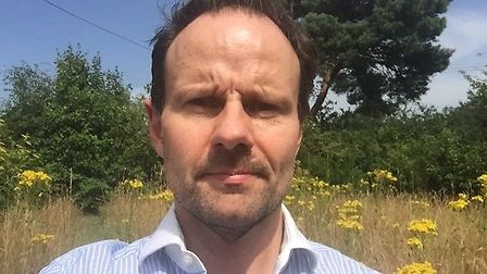 James Mallinder, cabinet member for the environment at East Suffolk Council. Picture: JAMES MALLINDE