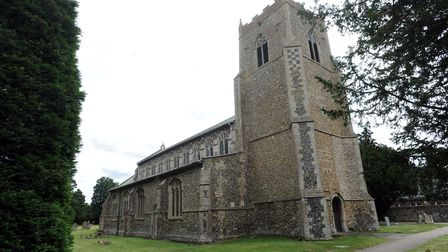 St Mary's Church in Bacton next to where the cemetery will be expanded. Picture: PHIL MORLEY