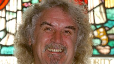 Billy Connolly. PA Photo.