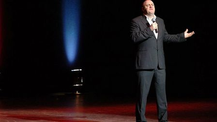 Dara O'Briain performs his stand-up show raising money for the charity Shelter