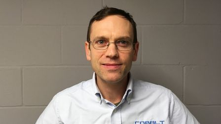 Ben Brown, director and co-founder of Cobalt Aerospace Ltd Picture: COBALT AEROSPACE LTD