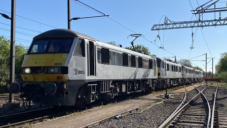 The last Greater Anglia Class 90 locomotives have now left the Crown Point depot in Norwich. Picture