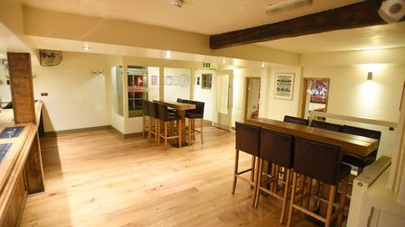 The interior of the One Bull pub in Bury St Edmunds will be redesigned to serve as a wine shop Pict