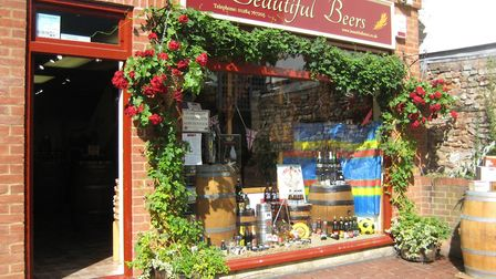 The Beautiful Beers team can offer same day delivery within Bury St Edmunds Picture: Beautiful B