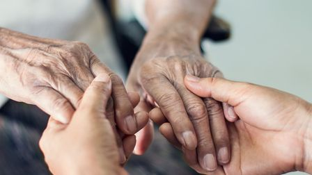 People off work under the furlough scheme could be caring for older relatives, prompting a fall in d