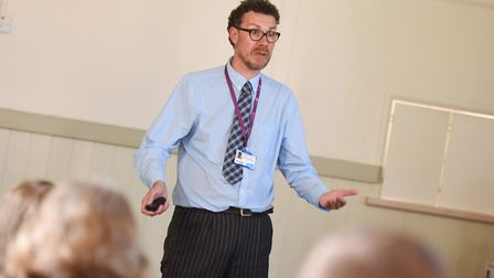 Gavin Bultitude from Suffolk County Council's adult care team said financial support measures were i