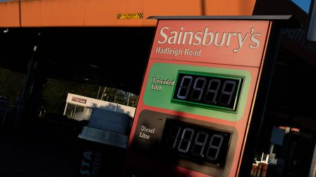 Fuel prices are at an all time low. Picture: SARAH LUCY BROWN