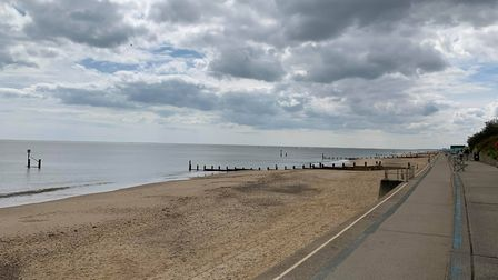 Southwold residents had previously reported an influx of visitors, but there were few people out on