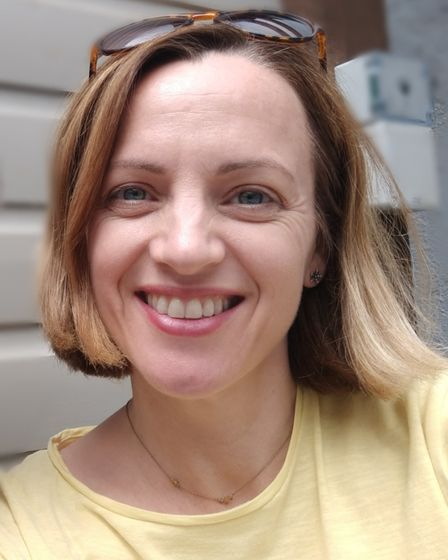 Ali Greenbank, who created the Julia Donaldson stones for children to find Picture: CONTRIBUTED