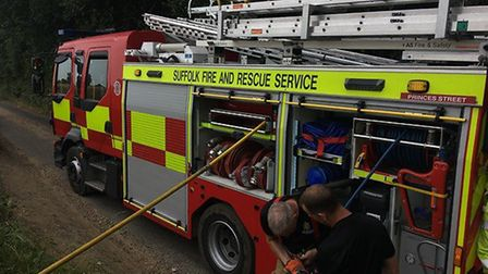 Crews have been called to a barn fire in the village of Bradfield St George. (Stock photo) Picture: