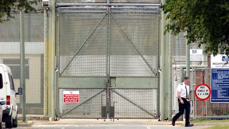 Highpoint Prison, near Newmarket, has installed temporary cells to help contain the spread of corona