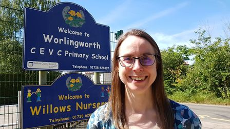 Headteacher Victoria Gascoyne-Cecil, of Worlingworth and Thorndon CEVC Primary Schools, said they we