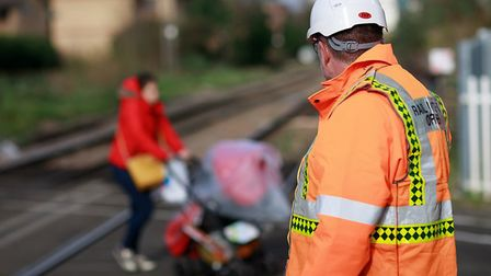 Network Rail has warned about dangers at level crossings. Picture; RALPH HODGSON/NETWORK RAIL