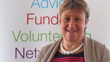 Christine Abraham is the CEO of Community Action Suffolk who launched the Covid-19 Impact Survey Pho