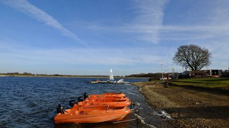 Alton Water will remain closed during the school half term and May bank holiday. Picture: STEPHEN SQ