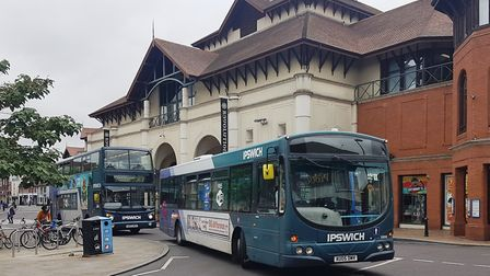 Bus services between Ipswich and Hasketon have been cancelled Picture: PAUL GEATER