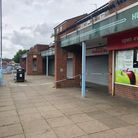 Police were called to shops off Hawthorne Avenue in Colchester on Friday morning Picture: JAKE FOXFO