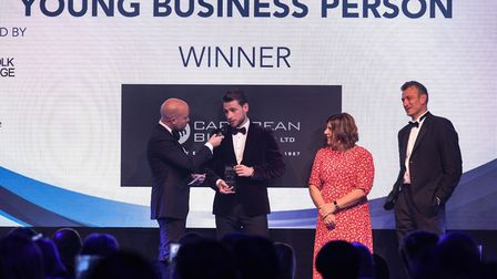 2019 Young Business Person award winner Stuart Dantzic, from Caribbean Blinds Picture: SARAH LUCY B